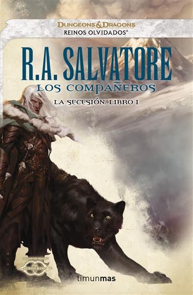 portada del libro Los compañeros, de R. A. Salvatore