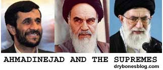 Ahmadinejad and the Iranian Supremes