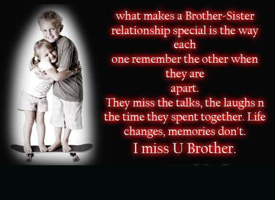 Quotes About Sister And Brother Love 66 Quotes