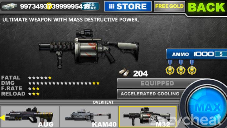 Zombie Frontier v1.28 Cheats