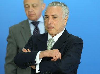 Maioria dos impeachments de Michel Temer tem como base áudio sobre Eduardo Cunha