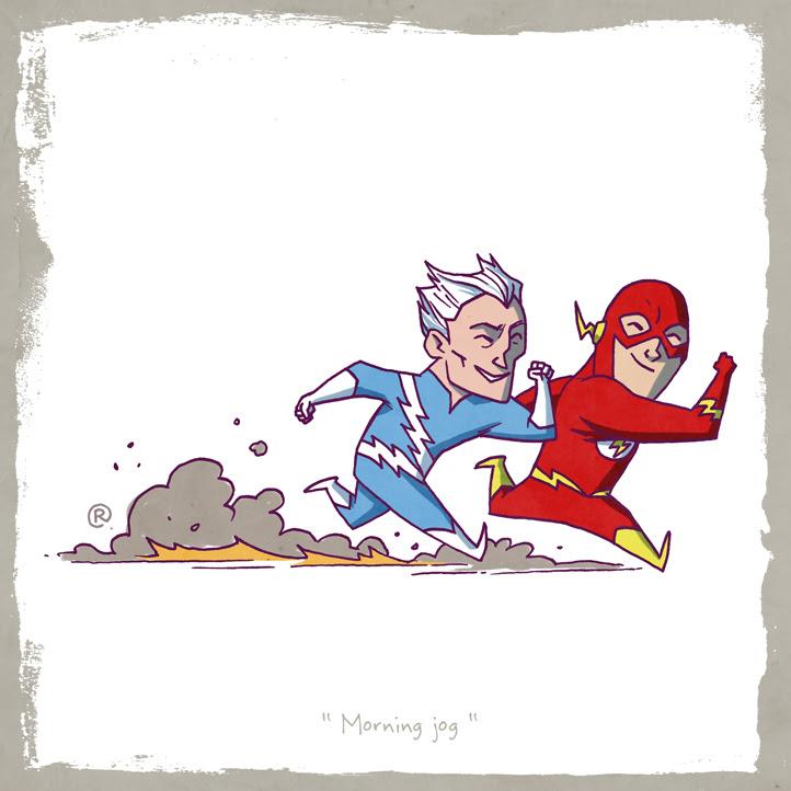 Quicksilver y Flash