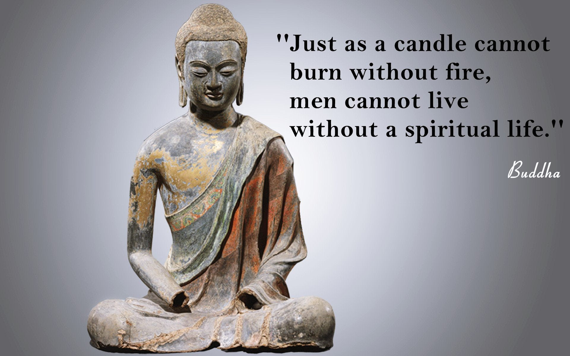 Buddha Spiritual Life Quotes Wallpaper 05665 Baltana
