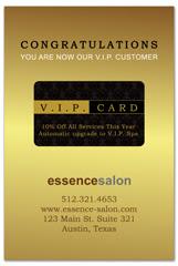 PCS-1073 - salon postcard flyer