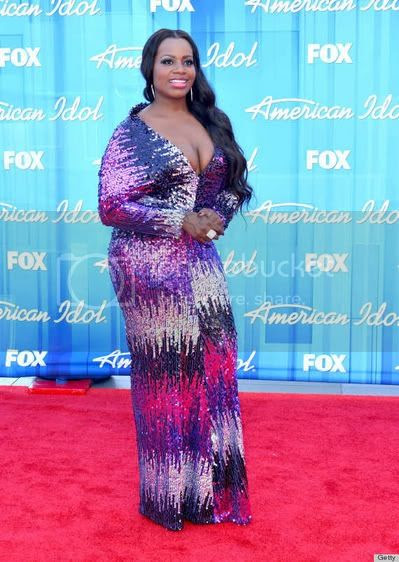 Fantasia Barrino Fashion Style at 'American Idol' Finale