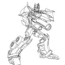 Coloriages Coloriage Gratuit Transformers Frhellokidscom