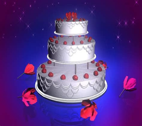 Sweet Birthday Cake, Balloons Fly Up, Birthday Greetings