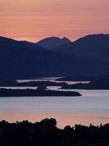 Loch Lomond and The Cobbler by Christopher Swan