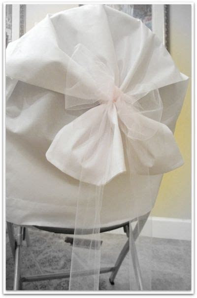Use Pillowcases for Inexpensive Chair Covers for Wedding