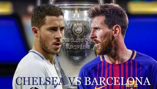 مشاهدة مباراة برشلونة و تشيلسي مباشر - دوري أبطال أوروبا