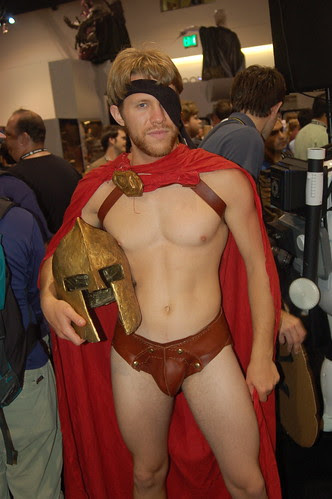 comic con 2007: one of 300