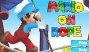 Mario on Rope: equilibrio, super mario, bambini
