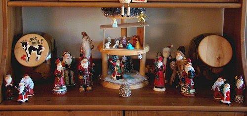 Old-world Santa collection