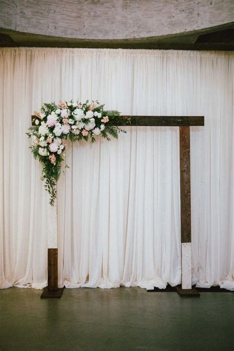 Ceremony backdrop, Wedding and Flower on Pinterest