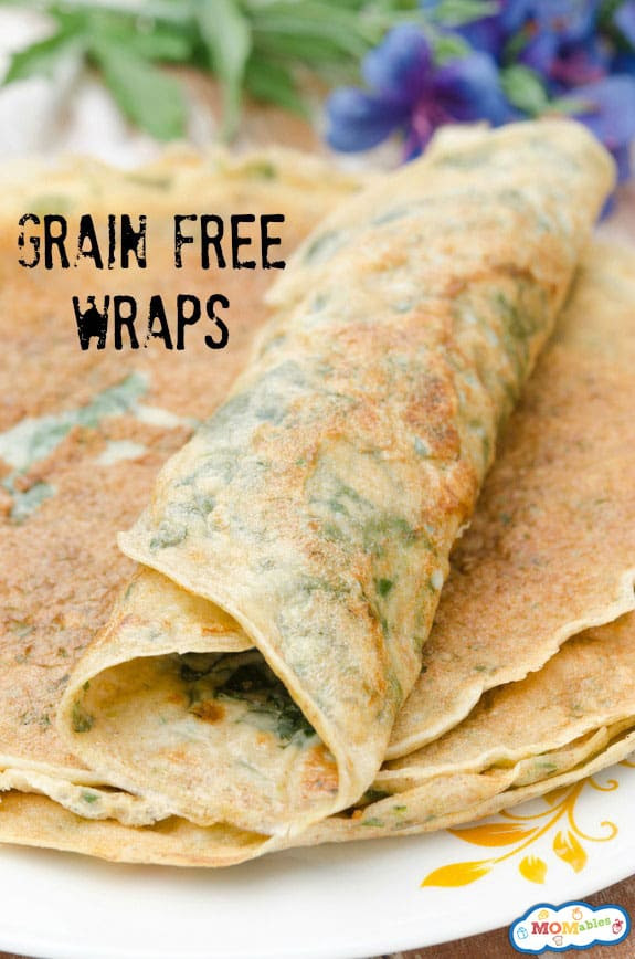Grain Free Lunchbox Wraps Recipe {members' exclusive}