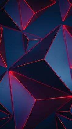 black  red wallpaper abstract  geometric