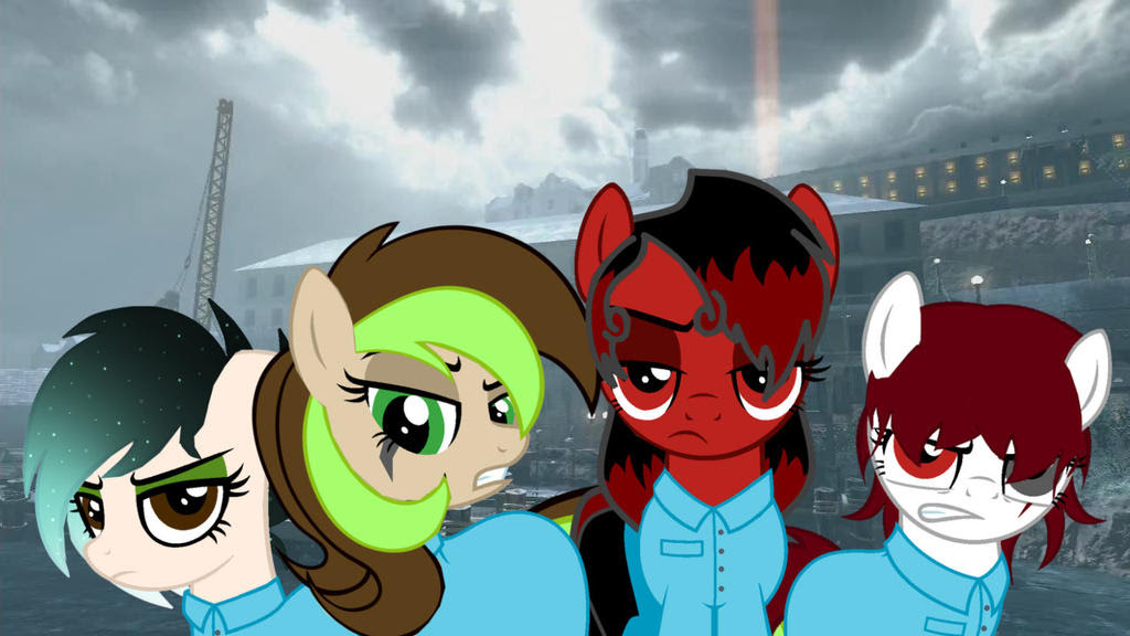 Mob Of The Dead Equestria By Troyjr24 On Deviantart