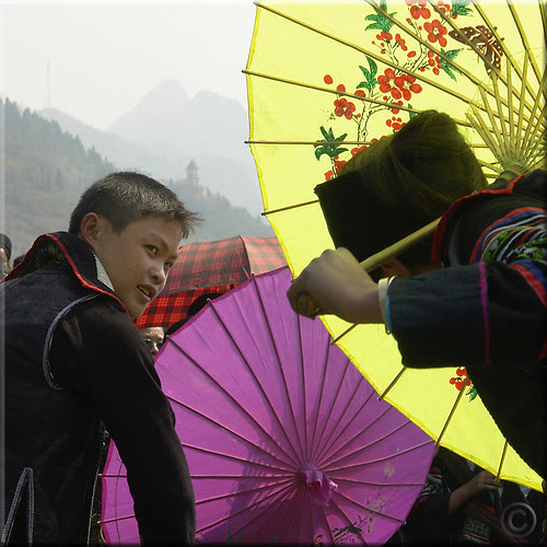 Hmong courting dance