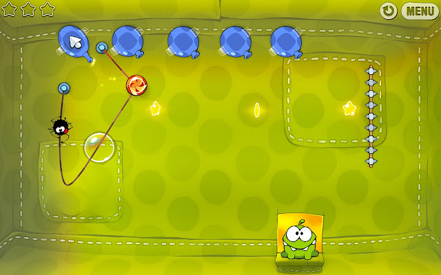 cut the rope2 Cut the Rope chega ao Google Chrome