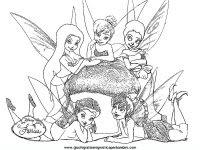 Disegni Da Colorare Di Trilli La Fatina Di Peter Pan