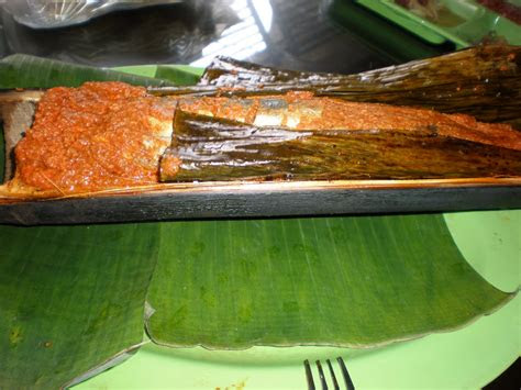 inspirasikukeni  ikan patin bakar  bambu
