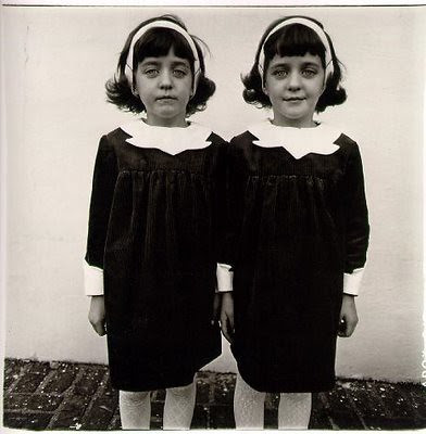 Identical Twins by Diane Arbus