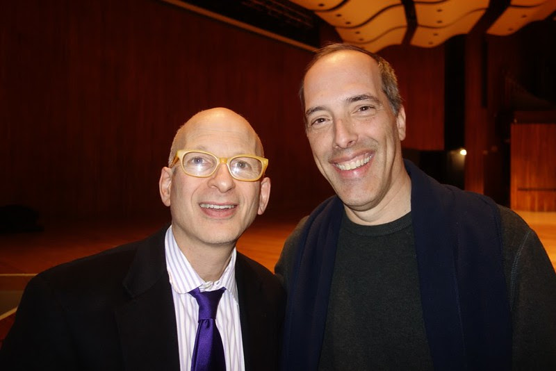 Seth Godin and Steve Garfield