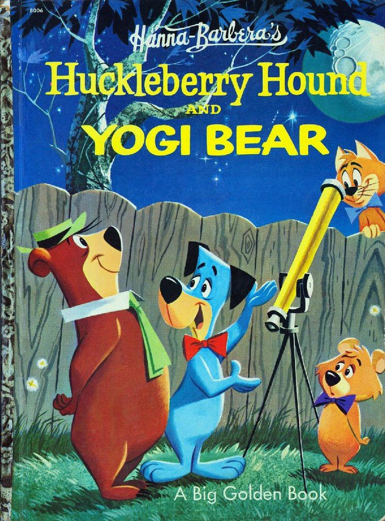 Huckleberry Hound & Yogi Bear001