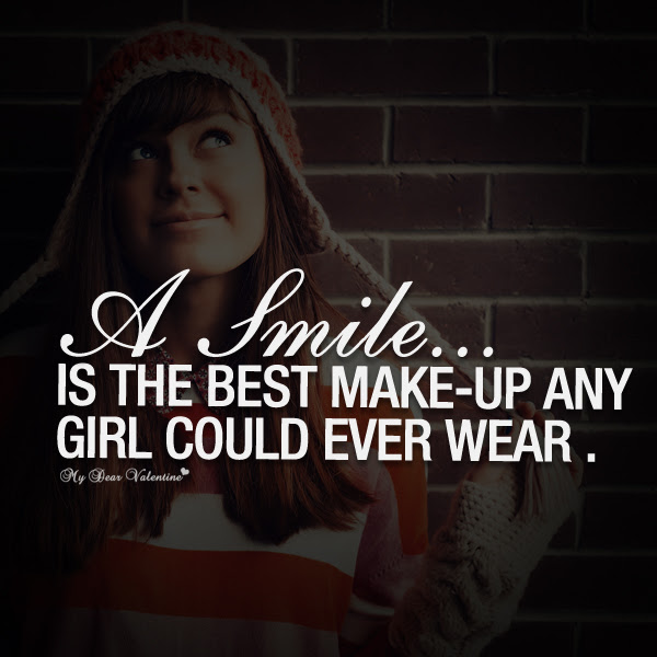 Quotes About Girlfriend Smile 33 Quotes
