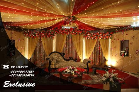 Wedding Planner Stages and Decoration   ClickBD