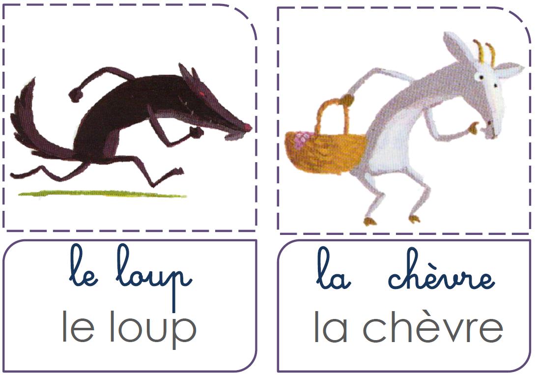 Conte 7 Le Loup Et Les 7 Chevreaux La Fouine En Clis