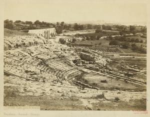 Teatro greco di Siracusa. Digital ID: 1624172. New York Public Library