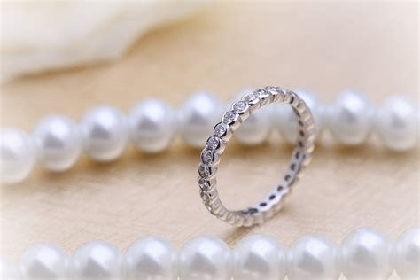 Full Eternity Ring/Diamond set wedding ring for women in