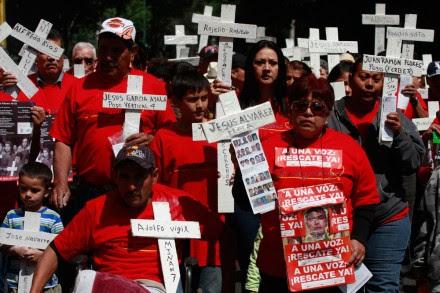 Conmemoran 7 años de la tragedia en Pasta de Conchos. Foto: Hugo Cruz