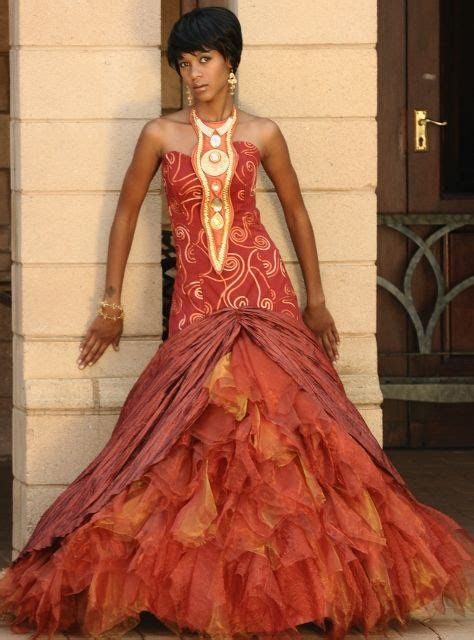 Traditional African Wedding Dresses   God's Grace Weddings
