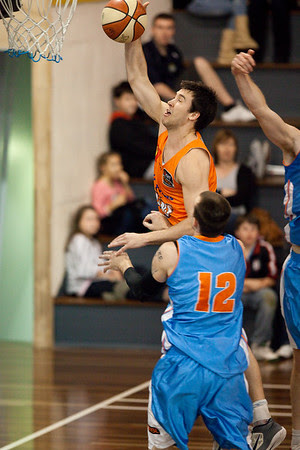 Brad Hill, Will Hudson - Cairns Taipans v Gold Coast Blaze Pre-season  NBL Basketball, Auchenflower, Brisbane, Queensland, Australia; 3 September 2011. Photos by Des Thureson:  http://disci.smugmug.com.
