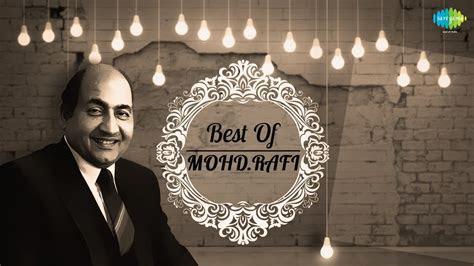 mohammad rafi songs vol  mohd rafi top  hit