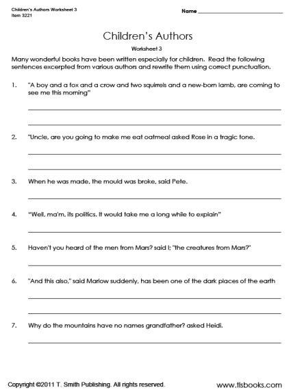 Free Grammar Worksheets For Kindergarten Sixth Grade