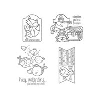 Hey, Valentine Clear Stamp Set