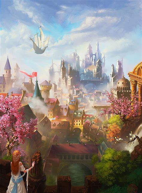 fantasy kingdom   id enjoy visiting fantastic