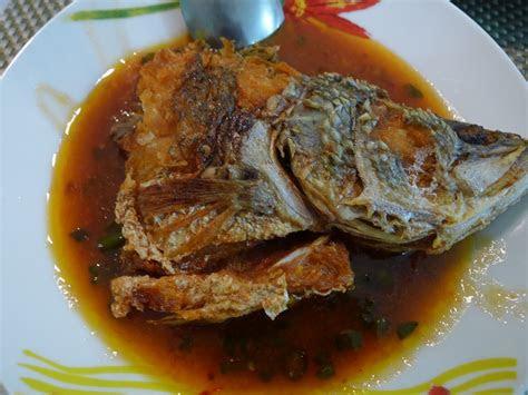 resepi ikan siakap tiga rasa