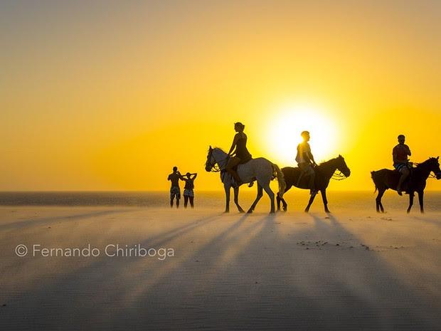 Captadas pelas lentes do fotógrafo equatoriano Fernando Chiriboga, imagens de rara beleza estão no livro-álbum 'Terra à Vista – Litoral do Nordeste do Brasil' (Foto: Fernando Chiriboga)