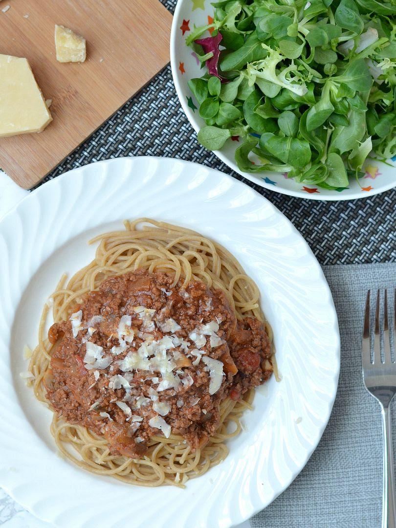 Rich & Meaty Spaghetti Bolognaise