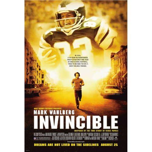 Poster art for Disney film Invincible