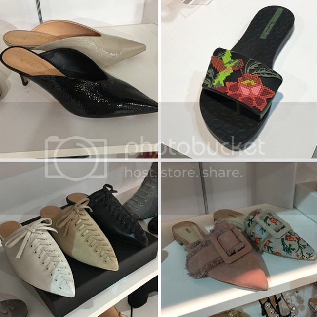 mules and slides footwear fashion trend 2018