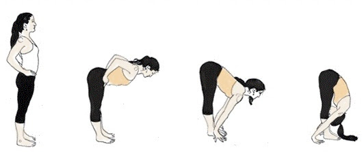 Image result for cartoon images of yoga Intense bend/stretch Pose