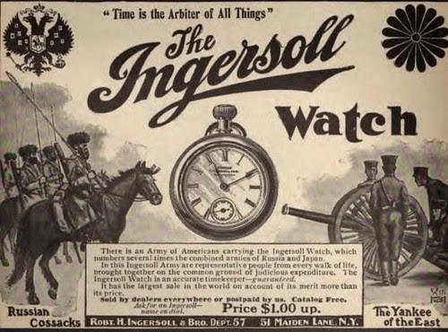 1904 Vintage Advert - Ingersoll Watch by CharmaineZoe