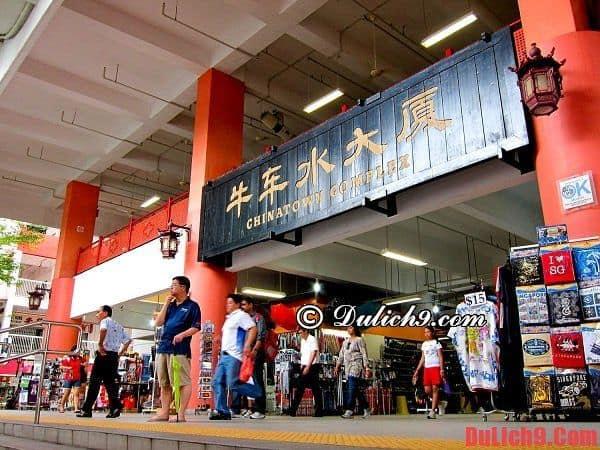 Chinatown, khu ăn uống giá rẻ đa dạng nhất Singapore