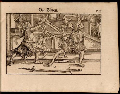 Joachim Meyer - Gründtliche Beschreibung des Fechtens 1570b