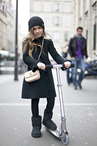 bohemeextreme: jessnha: how come that little girl has a chanel bag…. and i have yet to get one… my future daughter.